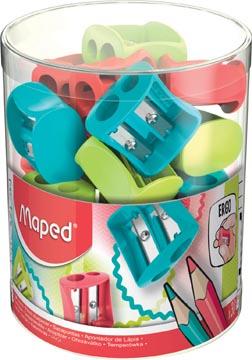 Maped potloodslijper Vivo 2-gaats, geassorteerde kleuren