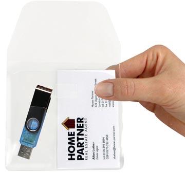 3L tas voor visitekaart en memory stick, pak van 10 stuks