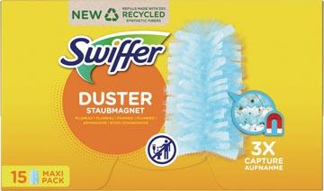 Swiffer Duster trap & lock-navullingen, pak van 15 stuks