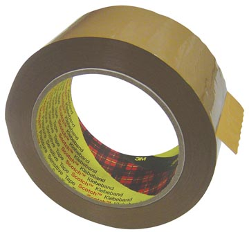 Scotch verpakkingstape 371, ft 50 mm x 66 m, bruin