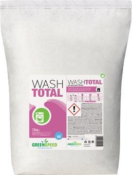 Ecover waspoeder Wash Total, 214 wasbeurten, zak van 7,5 kg