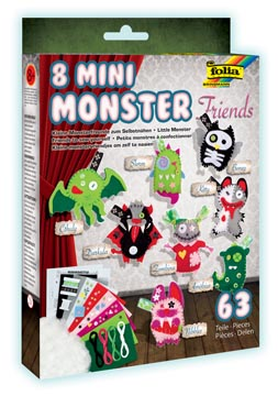 Mini monsters set