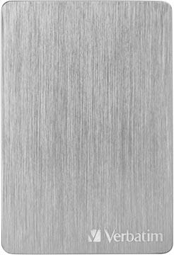 Verbatim harde schijf 3.2 GEN1 Store 'n' Go ALU Slim, 2TB, Silver