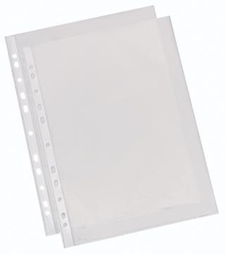 Esselte geperforeerde showtas glashelder, standaard, 60 micron