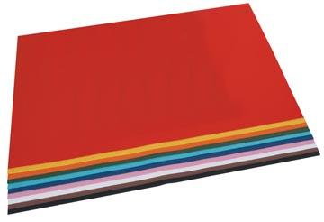 Folia gekleurd tekenpapier geassorteerde kleuren