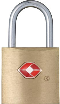 TSA slot met 2 sleutels