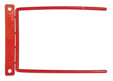 Archiefbinder D-clip, rood