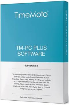 Safescan software voor tijdsregistratiesystemen, TimeMoto Pc Plus